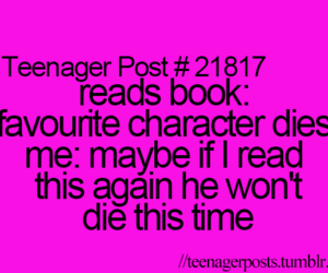 teenager post, book, and character image