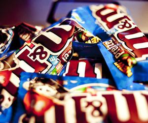chocolate, yum, and m&m's image
