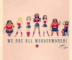 woman, wonderwomen, and wonderwoman image