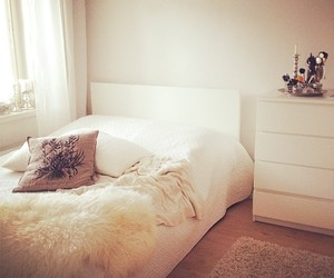bed, bedroom, and finnish image