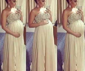 dress and pregnant image