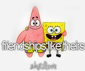 friendship, spongebob, and friends image