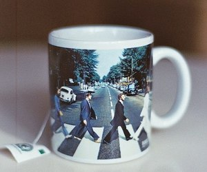 cup, the beatles, and beatles image