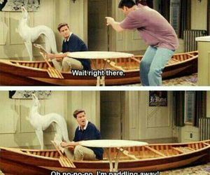 awesome, boat, and chandler bing image