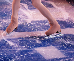 figure skating, figure skater, and yuna kim image