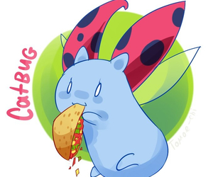 burrito, catbug, and the bravest warriors image