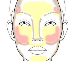 makeup, blush, and highlight image