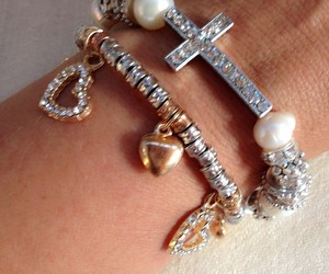 accessories, bracelet, and cross image