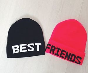 black, best friends, and hat image