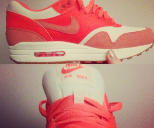 air max, girl, and neon image