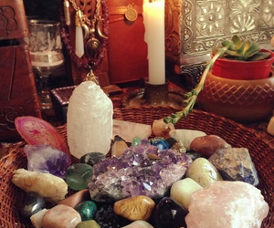 crystal, hippie, and magic image