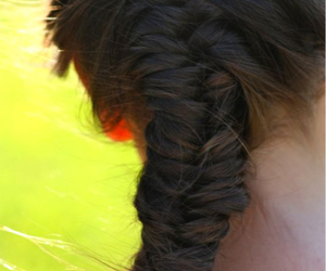 beauty, braid, and braids image
