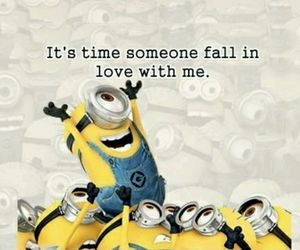love, minions, and funny image