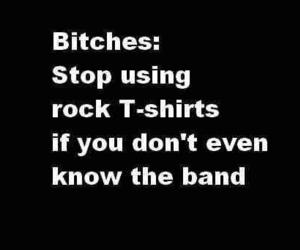 bitch, band, and rock image