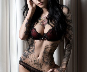 black hair, body, and boobs image