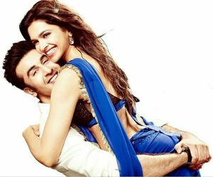 deepika, ranbir, and love image