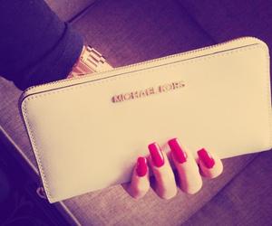 nails, mk, and bag image