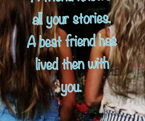 best friends, friends, and life image