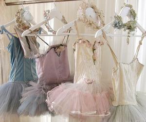 ballet, vintage, and dress image