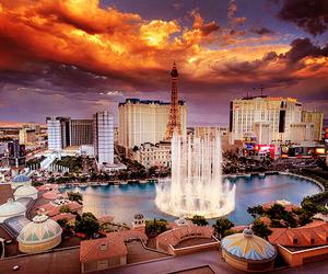 Las Vegas, city, and sky image