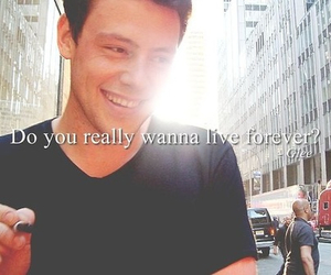 glee, quote, and cory monteith image
