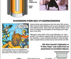 funny, light saber, and star wars image