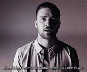 quote, justin timberlake, and love image