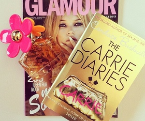 glamour, magazine, and book image