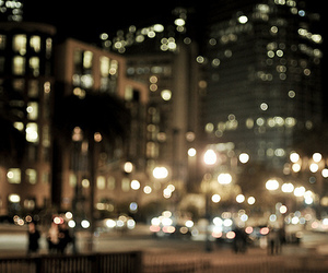light, city, and photography image