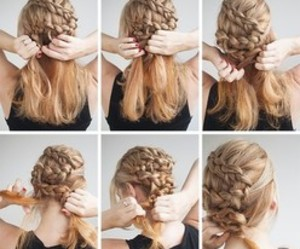 fashion, tutorial, and hairstyle tutorial image