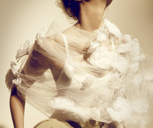 dress, editorial, and vogue image
