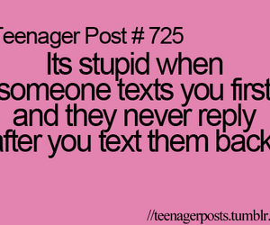 post, teenager, and text image