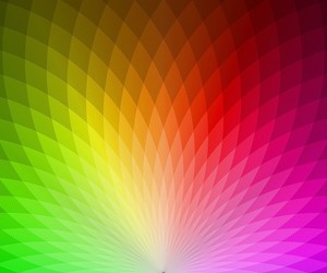 rainbow colors and diamond shapes image