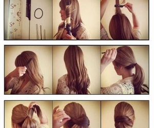 updo, diy, and Easy image