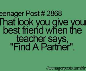 teenager post, partner, and teacher image