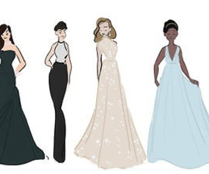 Anne Hathaway, dress, and dresses image
