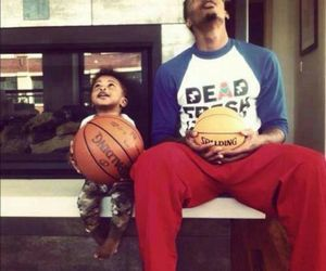 Basketball and baby image