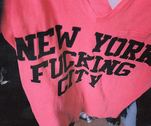 new york, shirt, and city image