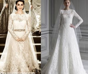 wedding dress, reign, and mary image