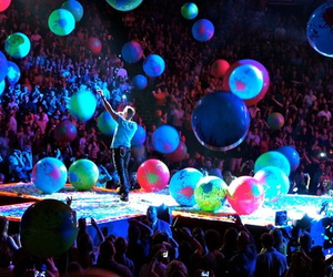 coldplay, concert, and music image