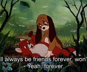 friends, disney, and forever image
