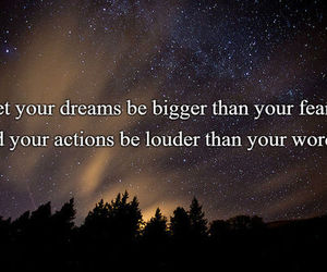 dreams, fears, and quote image