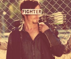 fighter, norman reedus, and zombie image