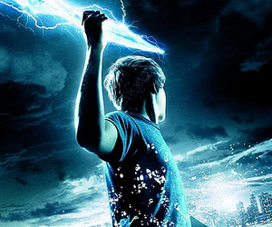 percy jackson, logan lerman, and the lightning thief image