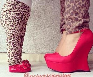 baby, red, and shoes image