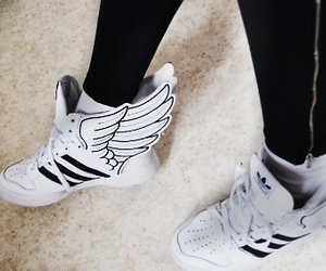 adidas, shoes, and wings image