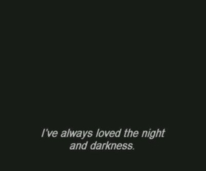 quotes, Darkness, and night image