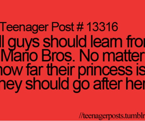 princess, teenager post, and mario image