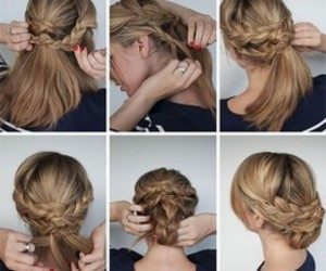 fashion, hair style, and girl image