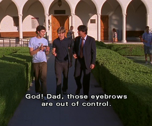 subtitles, the oc, and eyebrows image